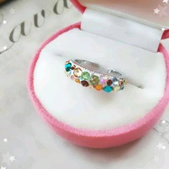 Ring『warm☆love』(スワロフスキー)