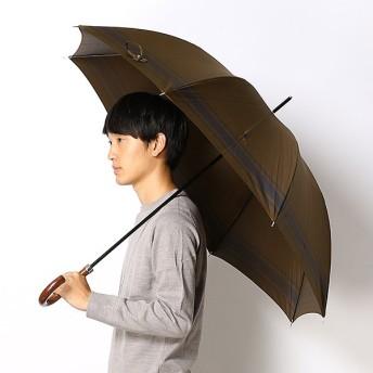 [マルイ]【セール】雨傘【手開きタイプ/長傘】Pツイル先染めボーダー(メンズ/紳士)/ポロ ラルフローレン(傘)POLO RALPH LAUREN(umbrella)
