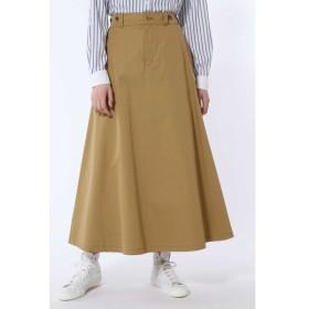 HUMAN WOMAN / ヴィンテージ風チノロングスカート◆