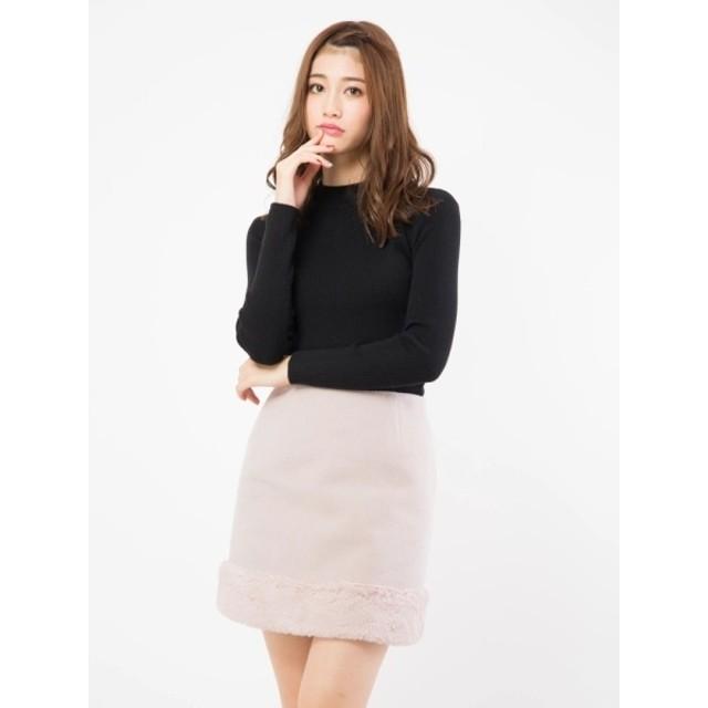 [マルイ]【セール】裾ファースカート/セシルマクビー(CECIL McBEE)