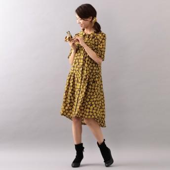 [マルイ]【セール】【WEB限定】【Tricolore】ボンボンフラワープリントドレス/トゥービーシック(TO BE CHIC)