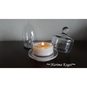 20種類以上の中から香りを選べる。お客様で調合も~重厚感あるガラスの器で素敵なひとときを~