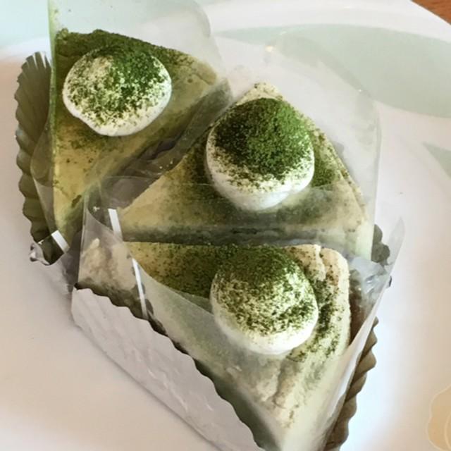 抹茶スフレチーズケーキ15cm