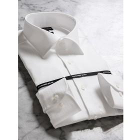 [マルイ]【セール】形態安定80双スリムフィットワイドカラー長袖ビジネスドレスシャツ/タカキュー(TAKA-Q)