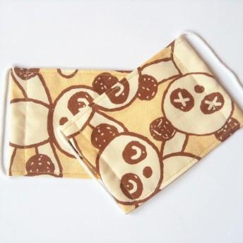 子供のマスク☆2枚セット パンダ