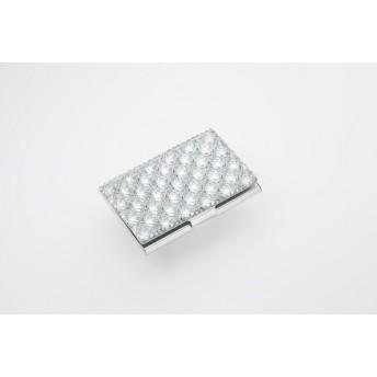 東京切子カードケース 八角籠目