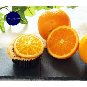 オレンジとチョコチップ・マフィン (1個)