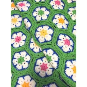 SALE‼︎African flower blanket(Green)