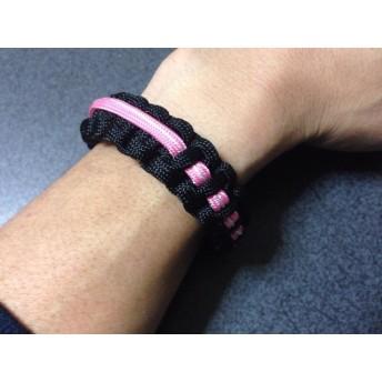 Lightsaber Pink パラコードブレスレット ライトセーバー