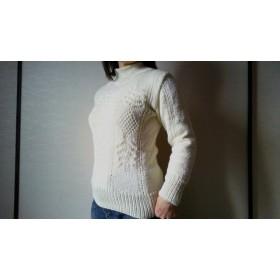 手編みのセーター#7