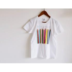 おとな用 色えんぴつ Tシャツ ベーシックタイプ おそろいコーデでおでかけ♪