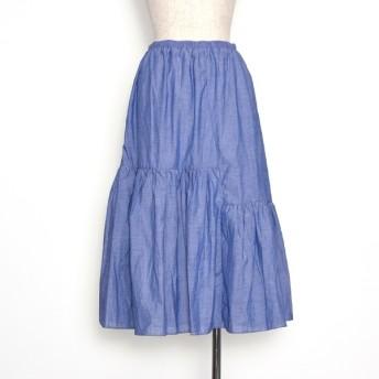 [マルイ]【セール】たっぷりギャザースカート/プードゥドゥ(POU DOU DOU)