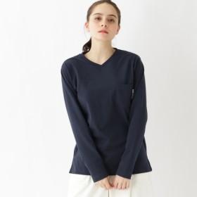 [マルイ]【セール】長袖 Tシャツ Vネック WEB限定 11251/ベース ステーション(レディス)(BASE STATION Ladies)