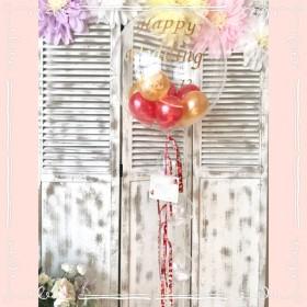 T5ーJPF バルーン 結婚式 ウェディング 誕生日 開店祝い 周年祝い 出産祝い フリンジバルーン タッセル バルーン電報 バルーンギフト 文字入りバルーン 和柄 リボン フェザー