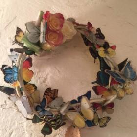 蝶のリース