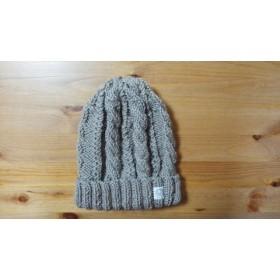 〖オーダーです〗変わり縄編みの帽子