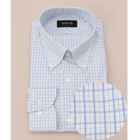 [マルイ] 【日本製】ドビーチェックシャツ/オンワード ジェイ ブリッジ(ONWARD J BRIDGE)