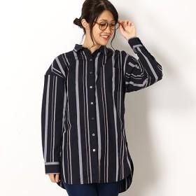 [マルイ]【セール】ランダムストライプチュニックシャツ/エーグル(AIGLE)