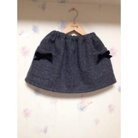 ウール秋冬スカート 100㎝