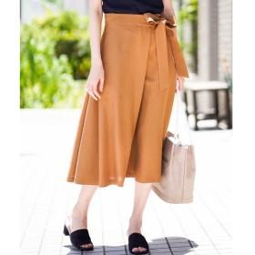 [マルイ]【セール】【セットアップ対応/洗える】リネンライクラップデザインスカート/ミッシェルクラン(レディス)(MICHEL KLEIN)