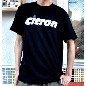 CITRON シトロン おしゃれロゴTシャツ ブラック