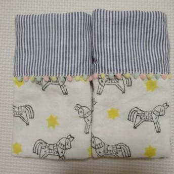 《再販》エルゴよだれパット*Trip×ストライプ fabric by admi