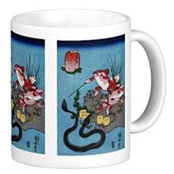 歌川国芳『 そさのおのみこと - うなぎ 』 のマグカップ:フォトマグ(浮世絵シリーズ)