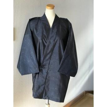 古布 大島紬 お着物リメイク 作務衣 現品限り 大人女子 和のお洒落上着