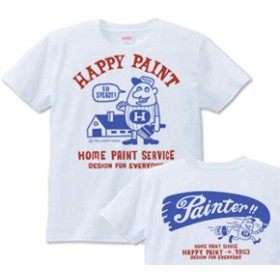 ペイントマン 両面 S~XL Tシャツ【受注生産品】