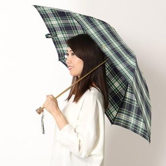 [マルイ]【セール】折り畳み傘【手開きタイプ】Pツイル先染め(レディース/婦人)/ポロ ラルフローレン(傘)POLO RALPH LAUREN(umbrella)