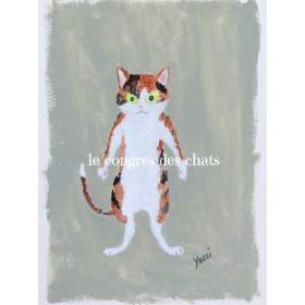 猫のポートレイト(のらねこ・三毛)