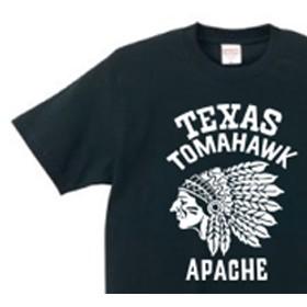【再販】ネイティブ・アメリカン XS~XL Tシャツ【受注生産品】