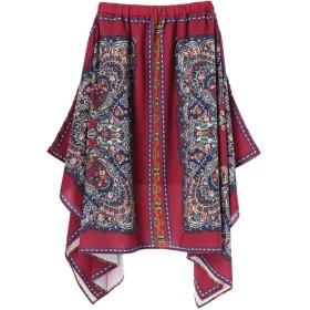 【6,000円(税込)以上のお買物で全国送料無料。】【CAROLINA GLASER】スカーフ柄スカート