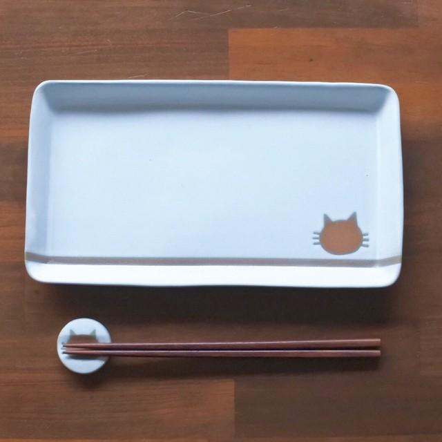 ba31e2a02d 長方形皿 ねこ水玉(白) 受注制作品 通販 LINEポイント最大1.0%GET ...