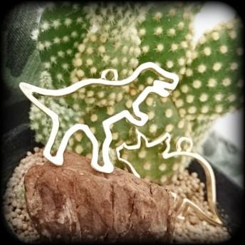 【再販】ダイナソー 恐竜 レジン枠 ティラノ ブロント トリケラ ステゴ 4頭セット