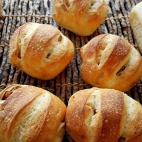 いちじくとクルミ&ぶどうとクルミのライ麦パン(2個セット)