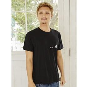 [マルイ]【セール】【Kahiko】ALOHAウェーブメンズポケットTシャツLサイズ/チャイハネ(CAYHANE)