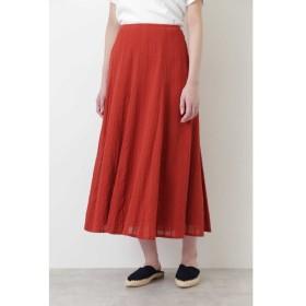 HUMAN WOMAN / ◆楊柳ストライプマチスカート
