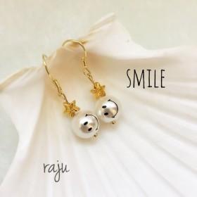 smile star ピアス