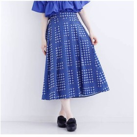 [マルイ]【セール】【merlot plus】 ローズドット柄スカート7547/メルロープラス(merlotPLUS)