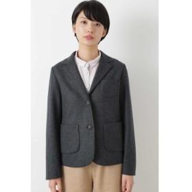 HUMAN WOMAN / ◆JPC ウール圧縮天竺テーラードジャケット