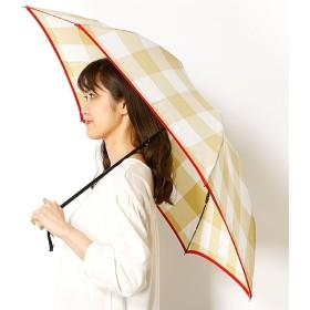 [マルイ]【セール】雨傘(折りたたみ傘/3段/ミニ傘)ギンガムチェック(婦人/レディース)/ランバンオンブルー(傘)(LANVIN en Bleu(umbrella))