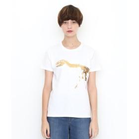 [マルイ] 【ユニセックス】ベーシックTシャツ/ティラノサウルス/グラニフ(graniph)