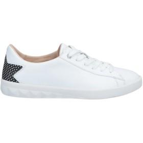 《送料無料》DIESEL レディース スニーカー&テニスシューズ(ローカット) ホワイト 36 牛革 / コットン