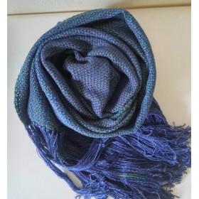 手織りストール A210