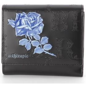c31624621a48 アルセラピィ artherapie フィセルローズ かぶせがま口長財布 (ブルー ...