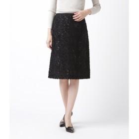 [マルイ]【セール】フラワーカットジャカード Aラインスカート/ニューヨーカー ウィメンズ(NEW YORKER)