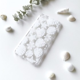 [ネーム入れ可] Hawaiian Holiday スマホケース・クリア for iPhone