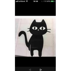 猫 ステッカー