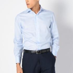 [マルイ] SD: 【ALBINI社製生地】ファインフィット ソリッド ホリゾンタルカラー シャツ(ライトブルー/シップス(メンズ)(SHIPS)